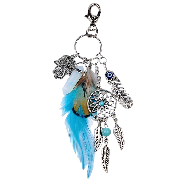 Healing Crystal Protection Keyring - 50% OFF