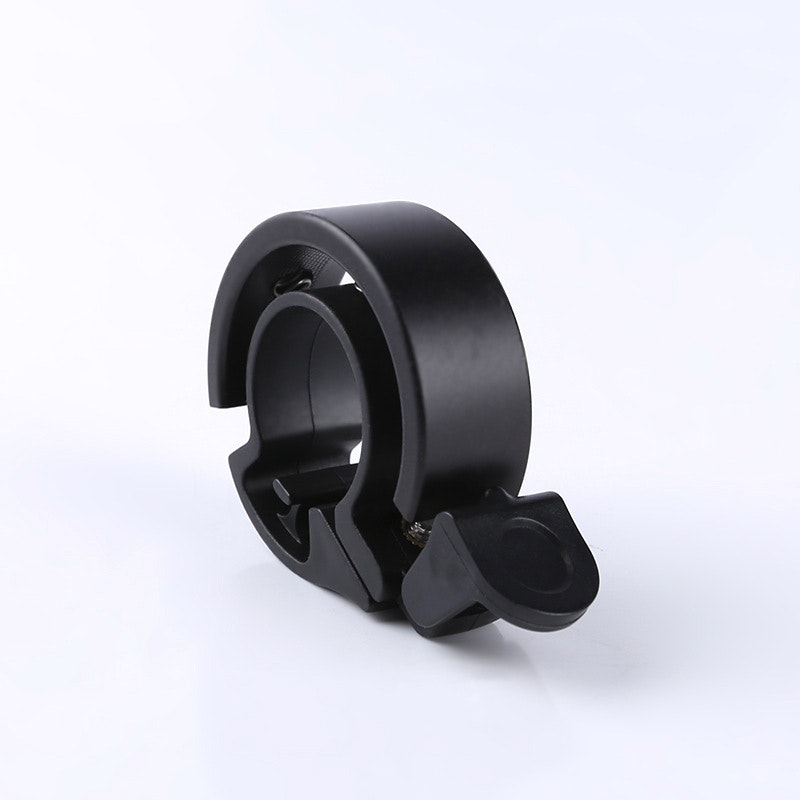Bicycle Aluminum Alloy Bell MTB Handlebar Alarm Ring Invisible Q bell Silver  JC