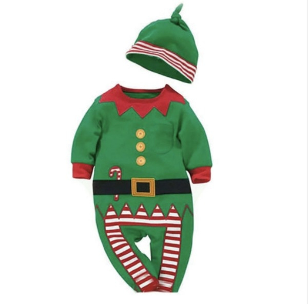 elf baby christmas outfit with hat cute baby outfits
