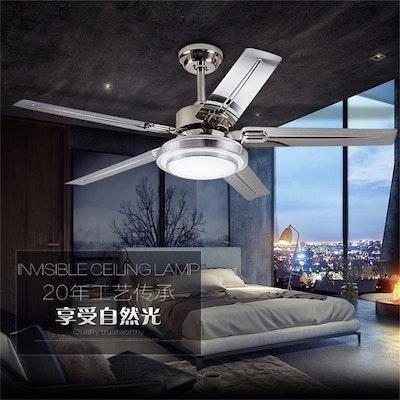 Led Adjustable Light Ceiling Fan Light Iron Fashion Simple Ceiling Lamp 42 Inch 107 Cm Ceiling Fan 90 230v Chef Jo Burke S Store